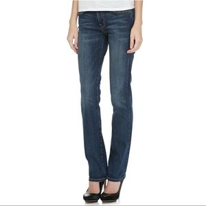 NWT Current/Elliott The Straight Leg Jeans in Love